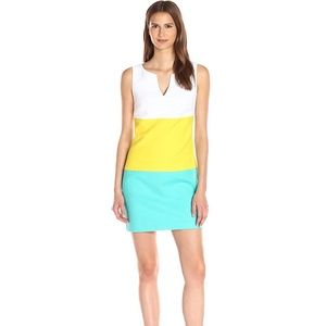 Trina Turk Women's Color Block Dress Size 4 NWT